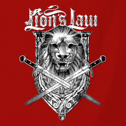 Lion and Swords
